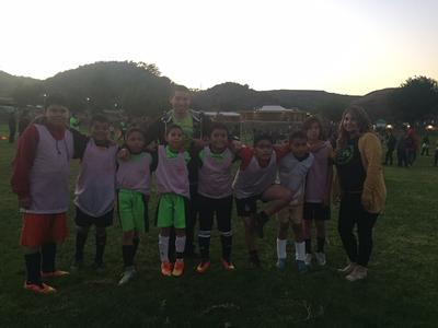 Congratulations to our awesome ASES Soccer Team… they are going to the  championship game!!!!